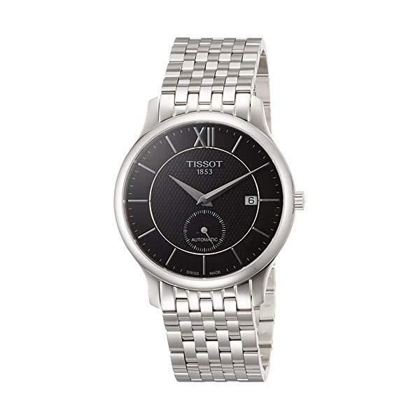 ティソ 腕時計 TISSOT T0634281105800 ウォッチ メンズ 男性用 Tissot T063.428.11.058.00 Men's Watch Tradition Small Second Silver 40mm Stainless Steel