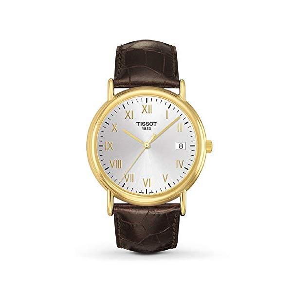 ティソ 腕時計 TISSOT T9074101603300 ウォッチ メンズ 男性用 Tissot Carson Silver Dial Leather Strap Men's Watch T9074101603300