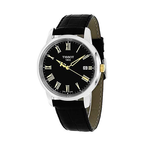 ティソ 腕時計 TISSOT T0334102605301 ウォッチ メンズ 男性用 Tissot Watches Men's T-Classic Watch (Black)