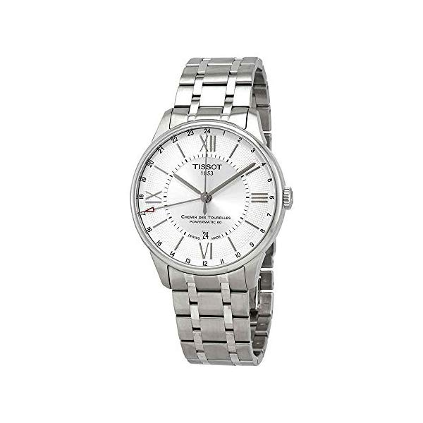 ティソ 腕時計 TISSOT T0994291103800 ウォッチ メンズ 男性用 Tissot Chemin Des Tourelles GMT Automatic Mens Stainless Steel Watch T0994291103800