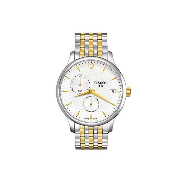 ティソ 腕時計 TISSOT T063.639.22.037.00 ウォッチ メンズ 男性用 Tissot Tradition GMT Men's Watch T063.639.22.037.00