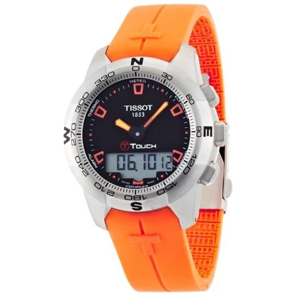 ティソ Tissot 腕時計 メンズ 時計 TISSOT watch T-TOUCH II T0474201705101 Men's [regular imported goods]