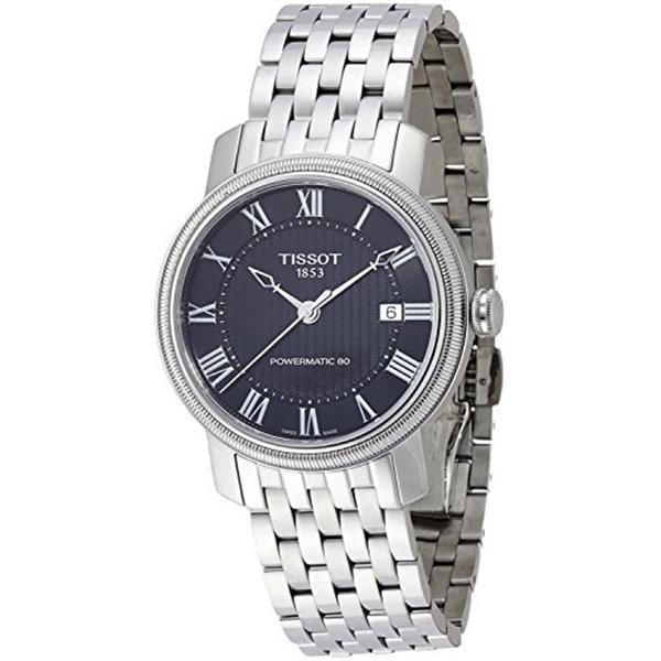 ティソ Tissot 腕時計 メンズ 時計 Tissot watch Bridgeport Powermatic 80 T0974071105300 Men's [regular imported goods]