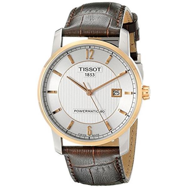 ティソ Tissot 腕時計 メンズ 時計 TISSOT watch Titanium Powermatic 80 T0874075603700 Men's [regular imported goods]