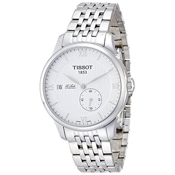 ティソ Tissot 腕時計 メンズ 時計 TISSOT watch Le Locle Small Second T0064281103800 Men's [regular imported goods]