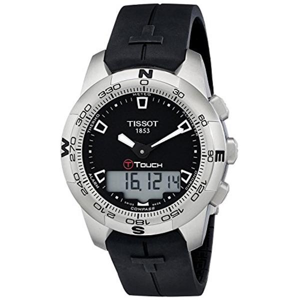 ティソ Tissot 腕時計 メンズ 時計 TISSOT watch T-TOUCH II T0474201705100 Men's [regular imported goods]