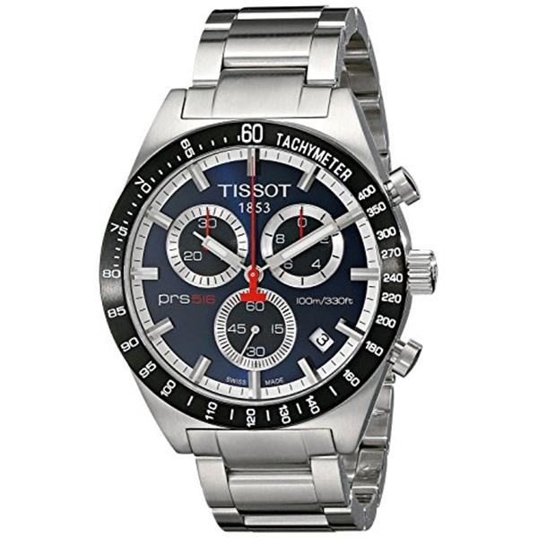 ティソ Tissot 腕時計 メンズ 時計 TISSOT watch PRS516 Blue T0444172104100 Men's