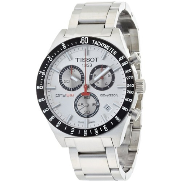 ティソ Tissot 腕時計 メンズ 時計 TISSOT watch PRS516 Silver T0444172103100 Men's