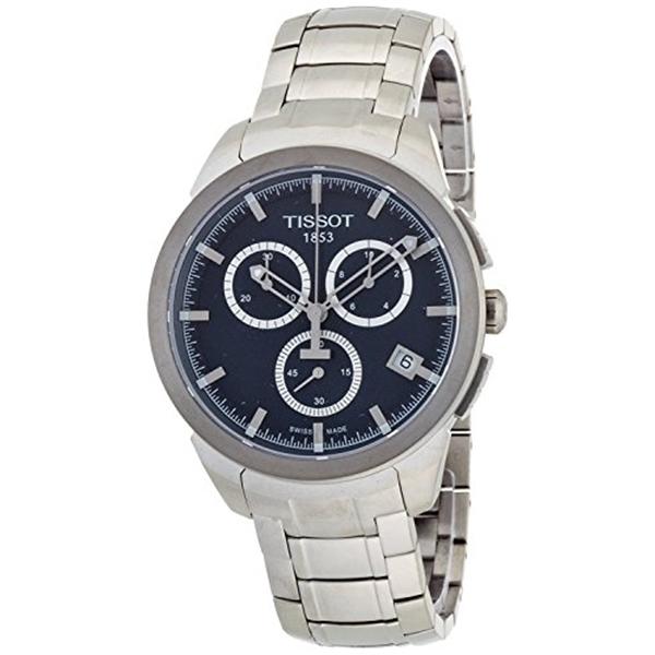 ティソ Tissot 腕時計 メンズ 時計 TISSOT watch Titanium Quartz Chronograph T0694174404100 Men's [regular imported goods]