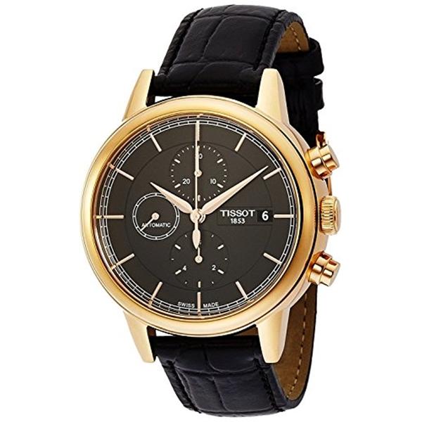 ティソ Tissot 腕時計 メンズ 時計 TISSOT watch Carson Automatic Chrono T0854273606100 Men's [regular imported goods]