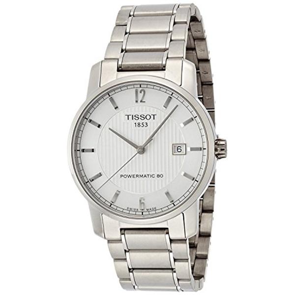 ティソ Tissot 腕時計 メンズ 時計 TISSOT watch Titanium Powermatic 80 T0874074403700 Men's [regular imported goods]