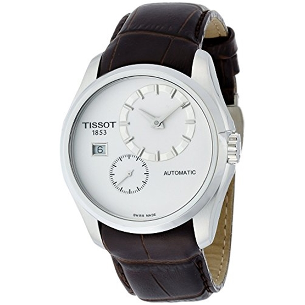 <title>ティソ Tissot 腕時計 メンズ 時計 TISSOT watch Couturier 期間限定 Small Second Automatic T0354281603100 Men's regular imported goods</title>