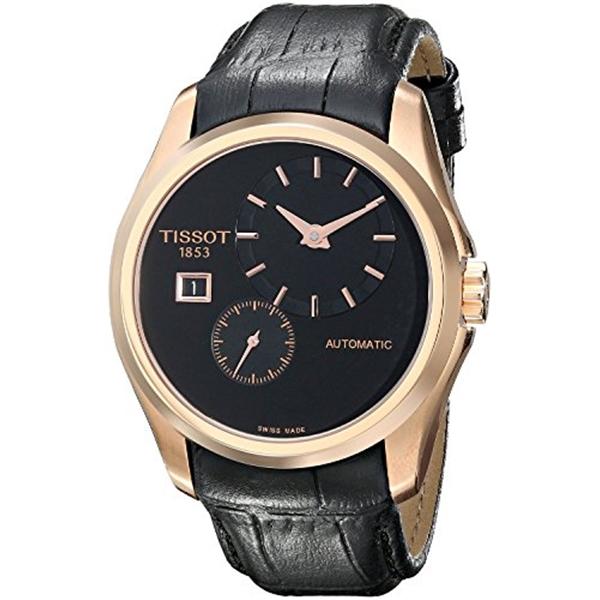 ティソ Tissot 腕時計 メンズ 時計 TISSOT watch Couturier Small Second Automatic T0354283605100 Men's [regular imported goods]