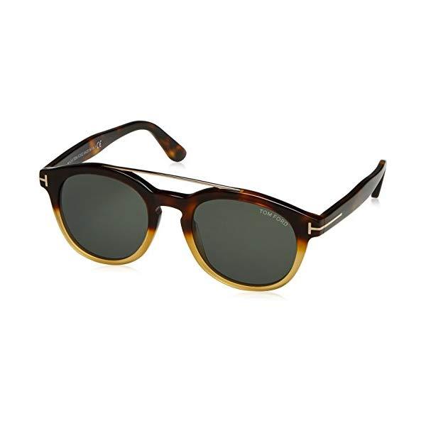 トムフォード サングラス TOM FORD FT0515 SUNGLASS PANT Tom Ford NEWMAN TF 515 FT 56N Sunglasses havana/other / green