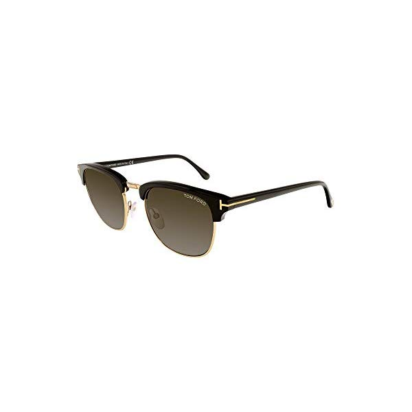 トムフォード サングラス TOM FORD HENRY FT0248 Tom Ford Sunglasses HENRY TF 248 FT0248 05N black/other/green