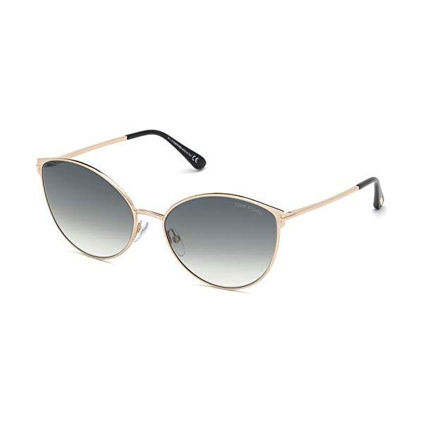 トムフォード サングラス TOM FORD FT0654 28B Tom Ford Sunglasses FT 0654 Zeila 28B shiny rose gold/gradient smoke