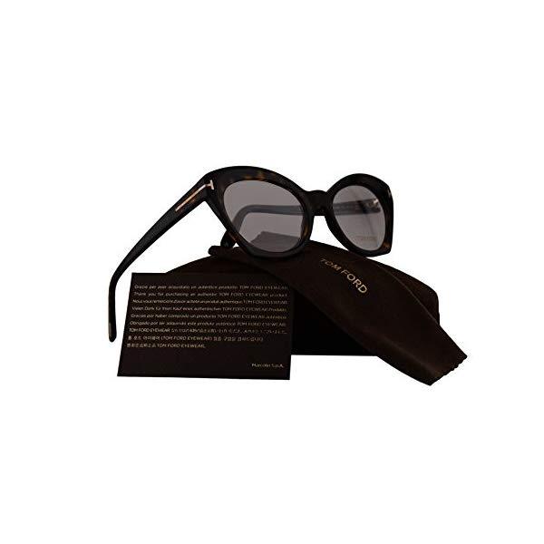 トムフォード サングラス TOM FORD FT5456 Tom Ford FT5456 Eyeglasses 52-19-140 Dark Havana w/Demo Clear Lens 052 TF5456 FT 5456 TF 5456