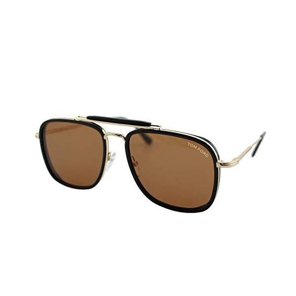 トムフォード サングラス TOM FORD FT0665 01E Tom Ford FT0665 Black/Brown Lens Sunglasses