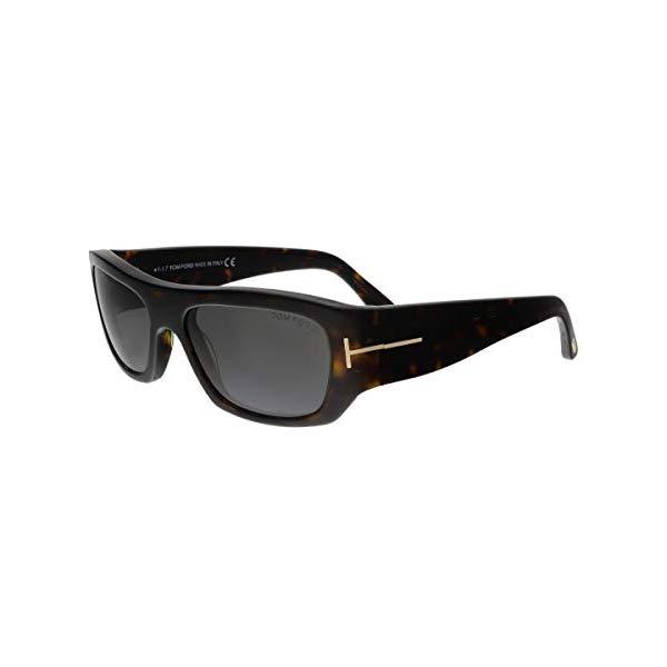 トムフォード サングラス TOM FORD FT0593 Tom Ford Mens Rodrigo Signature T-Bar Rectangle Sunglasses