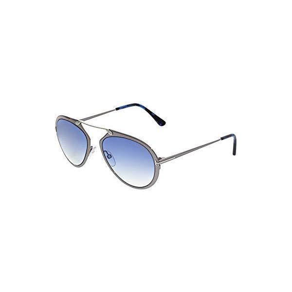 トムフォード サングラス TOM FORD FT0508A Tom Ford Sunglasses DASHEL TF 508 FT 12W shiny dark ruthenium / gradient blue
