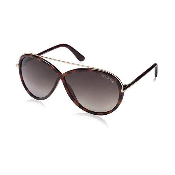 トムフォード サングラス TOM FORD FT0454 Tom Ford Women's FT0454 Sunglasses, Dark Havana