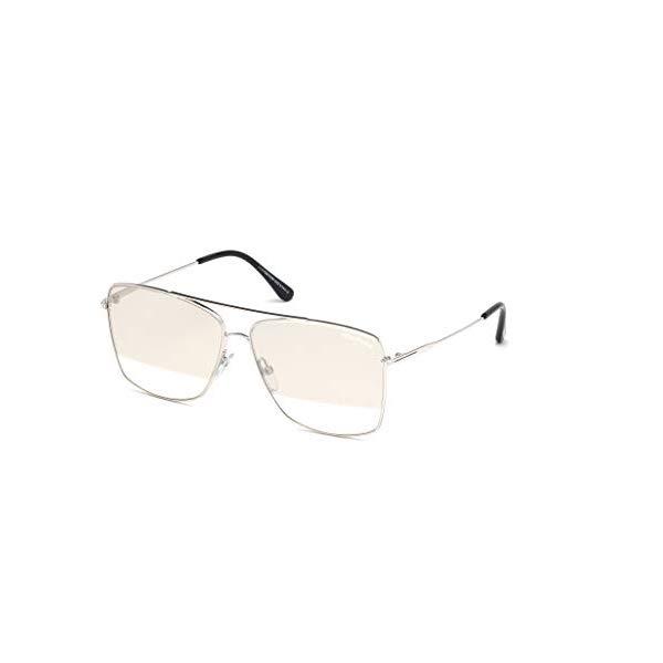 トムフォード サングラス TOM FORD FT0651 18C Tom Ford FT0651 Silver/Smoke Lens Mirror Sunglasses