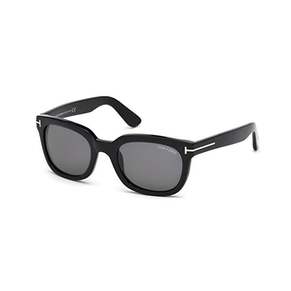 トムフォード サングラス TOM FORD TF198 Tom Ford TF 198 01A CAMPBELL BLACK Sunglasses - 53mm