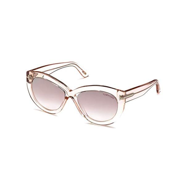 トムフォード サングラス TOM FORD FT0577 Tom Ford Sunglasses FT 0577 Diane- 02 72Z shiny pink / gradient or mirror violet