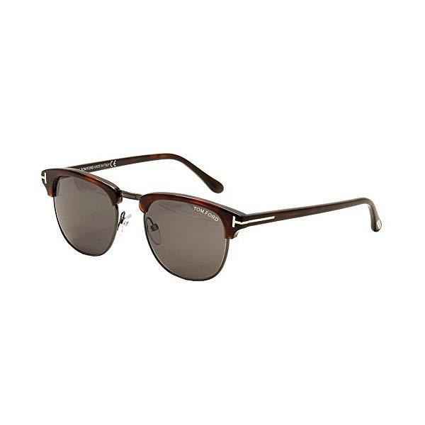 トムフォード サングラス TOM FORD FT0248 52A 51 Tom Ford Tf 248 Henry Gun Metal/Havana 52A Men's Designer Sunglasses