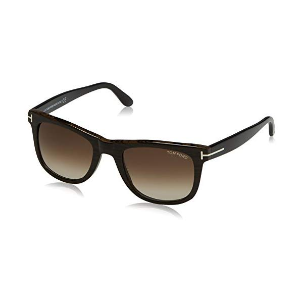 トムフォード サングラス TOM FORD FT0336 Tom Ford Leo Sunglasses in Black Gradient Roviex