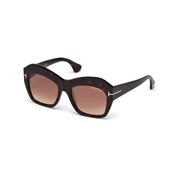 トムフォード サングラス TOM FORD FT0534 Tom Ford Sunglasses FT 0534 Emmanuelle 52F dark havana/gradient brown