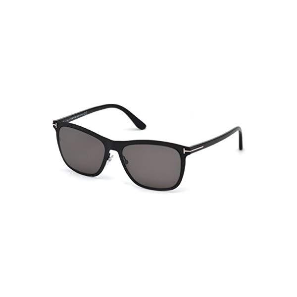 トムフォード サングラス TOM FORD FT0526A Tom Ford FT0526 02A Matte Black FT0526 Oval Sunglasses Lens Category 3 Size 55m