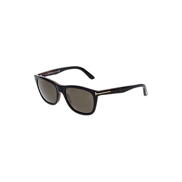 トムフォード サングラス TOM FORD FT0500 Tom Ford FT0500 05J Black Dark Havana Andrew Square Sunglasses Lens Category 3