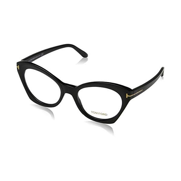 トムフォード サングラス TOM FORD FT5456 002 52 Tom Ford FT5456 Cat Eye Eyeglasses 52mm