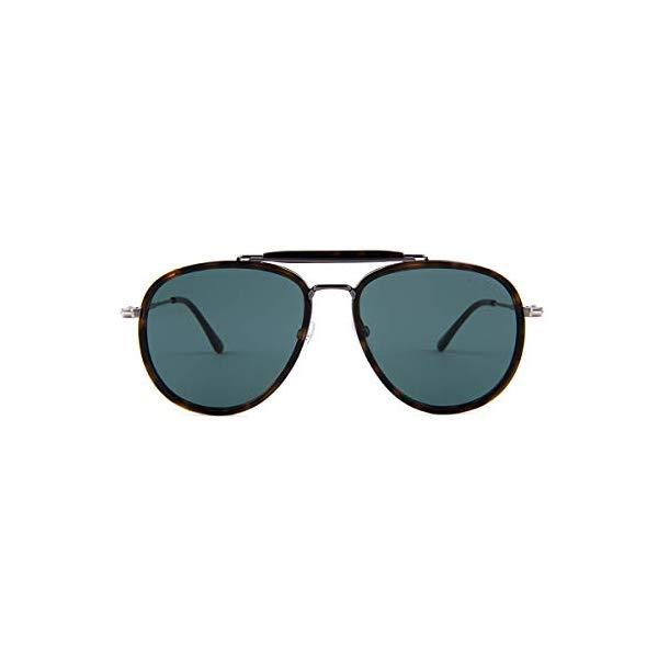トムフォード サングラス TOM FORD FT0666 52N Tom Ford TF0666 Tripp Aviator Sunglasses 58mm