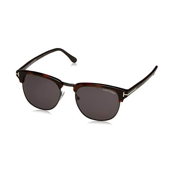 トムフォード サングラス TOM FORD FT0248 PANT 52A Tom Ford Henry FT0248 Sunglasses 52A Dark-Havana / Smoke Lens 53 mm