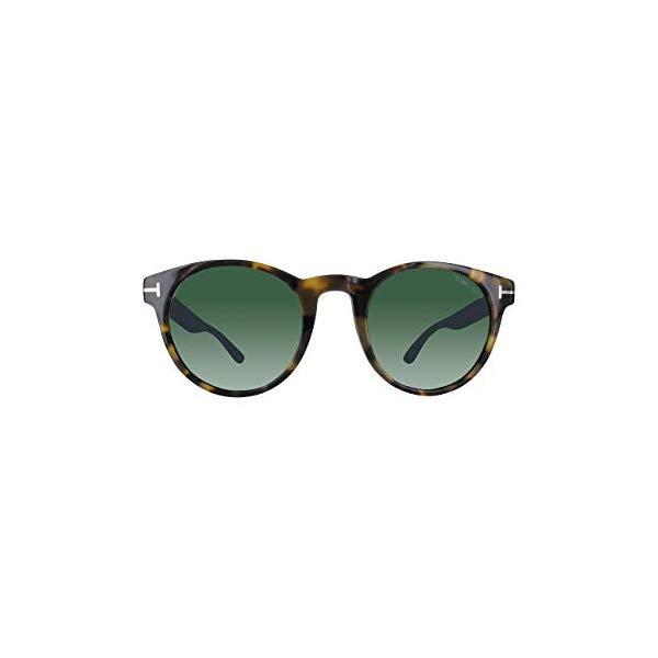 トムフォード サングラス TOM FORD FT0522 Tom Ford Sunglasses FT 0522 Palmer 56N havana/other / green