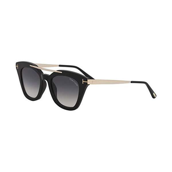 トムフォード サングラス TOM FORD FT0575 Tom Ford Sunglasses FT 0575 Anna- 02 01B shiny black / gradient smoke