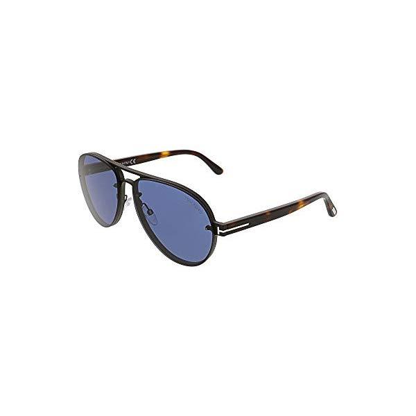 トムフォード サングラス TOM FORD FT0622 Tom Ford Sunglasses FT 0622 Alexei- 02 12V shiny dark ruthenium/blue