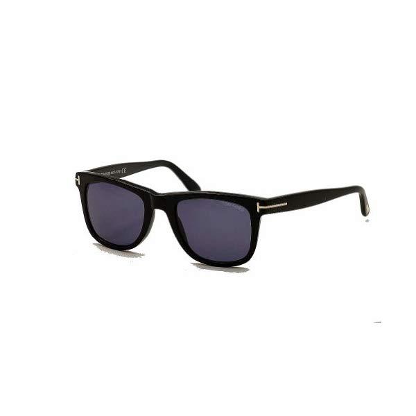 トムフォード サングラス TOM FORD TF336 Leo Tom Ford Leo Sunglasses in Shiny Black Blue