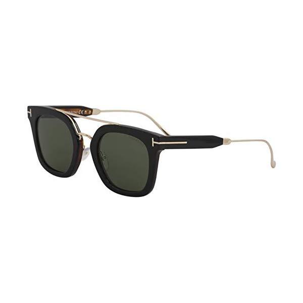 トムフォード サングラス TOM FORD FT0541 Tom Ford Sunglasses FT 0541 Alex- 02 05N black/other / green