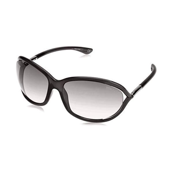 トムフォード サングラス TOM FORD FT0008 199 Tom Ford Jennifer Sunglasses Black FT0008 199 61