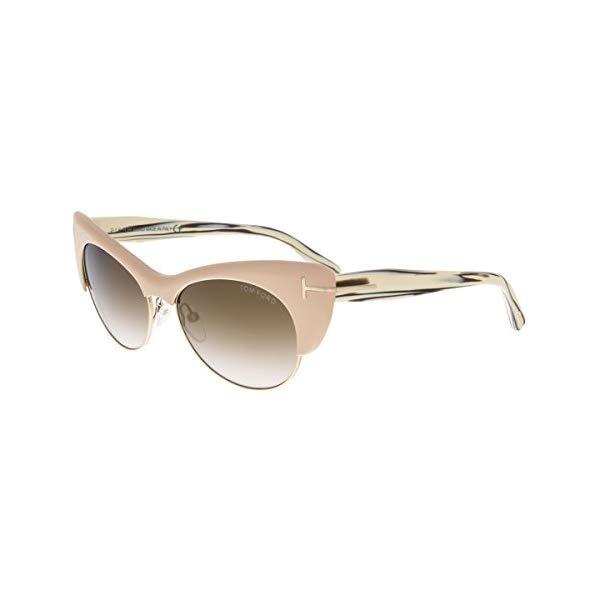 トムフォード サングラス TOM FORD FT0387 74G 54 Tom Ford Lola Sunglasses in Pink FT0387 74G 54