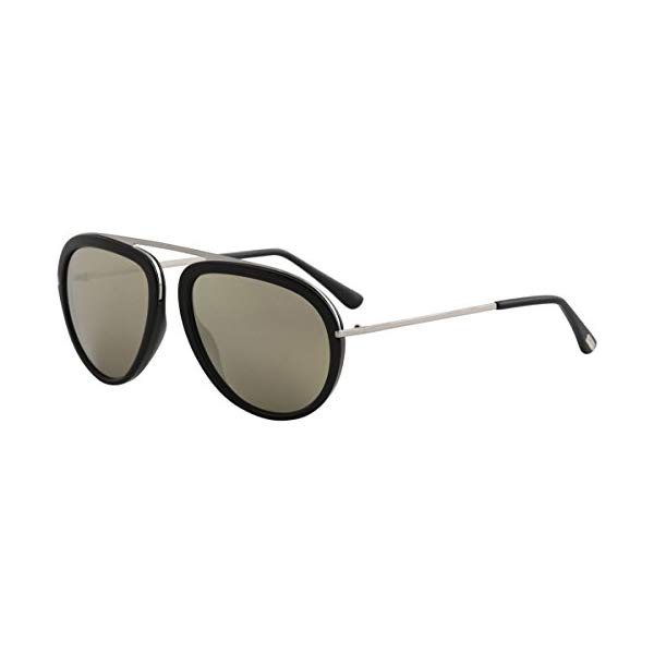トムフォード サングラス TOM FORD TF452 Tom Ford Sunglasses FT 0452 Stacy 01C shiny black / smoke mirror