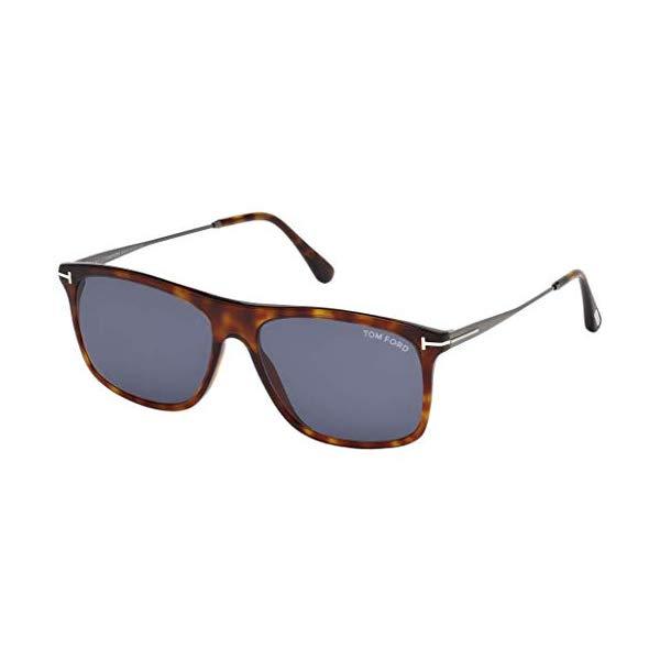 トムフォード サングラス TOM FORD FT0588 Tom Ford Sunglasses FT 0588 Max- 02 54V red havana / blue