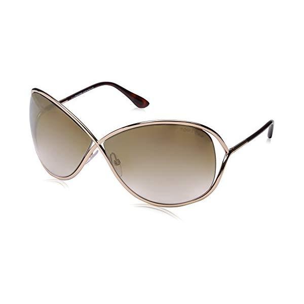 トムフォード サングラス TOM FORD TF130 Tom Ford Authentic Sunglasses: MIRANDA TF130 Shiny Rose Gold シャイニーローズゴールド