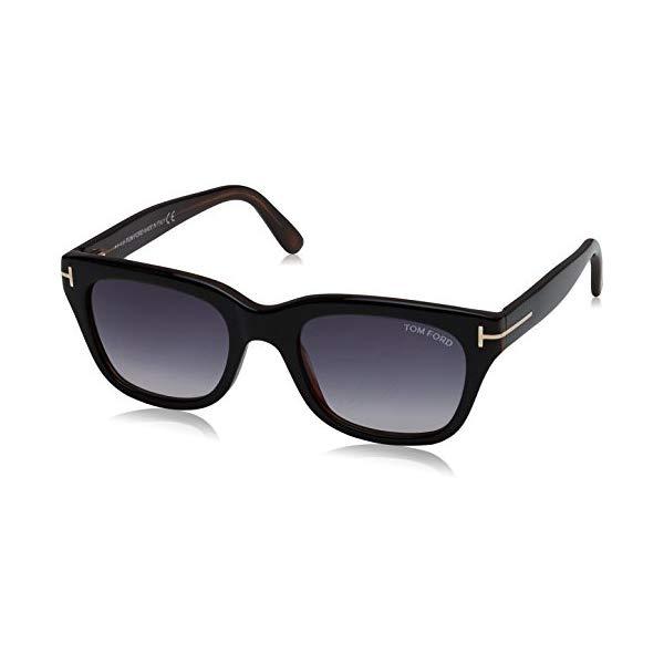 トムフォード サングラス TOM FORD 05B Tom Ford SNOWDON FT0237 05B Black/Other Sunglasses Grey Gradient 52mm Lens