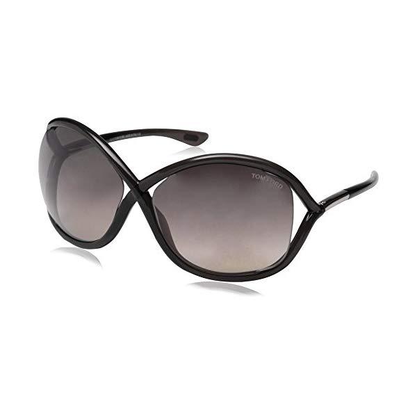 トムフォード サングラス TOM FORD FT0009 Tom Ford Women's FT0009 Sunglasses, Black