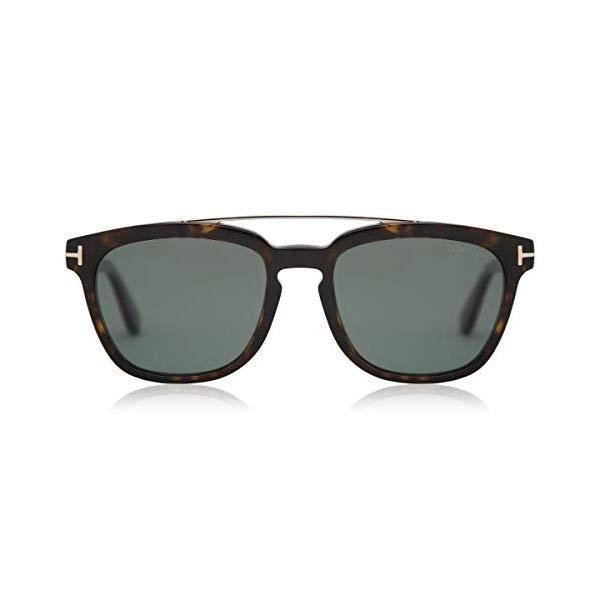 トムフォード サングラス TOM FORD FT0516 Tom Ford Sunglasses 0516 Holt 52R Dark Havana Green Polarized