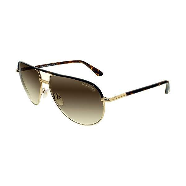 トムフォード サングラス TOM FORD FT0285 52K 61 Tom Ford Cole Sunglasses in Gold Dark Havana